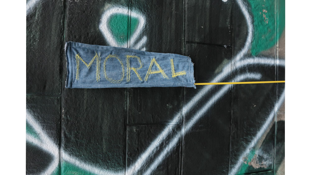 FAHRRAD DER MORAL